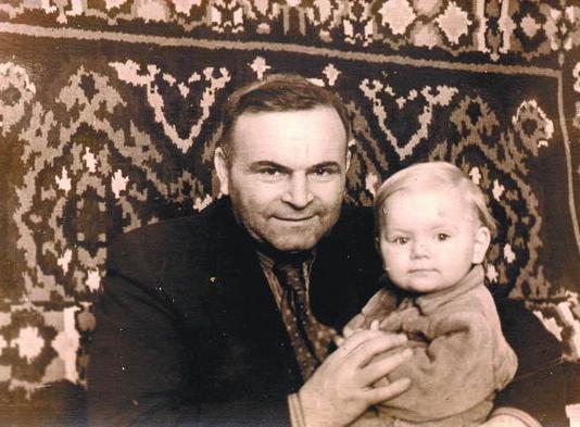 Дорогов с дочерью Ольгой